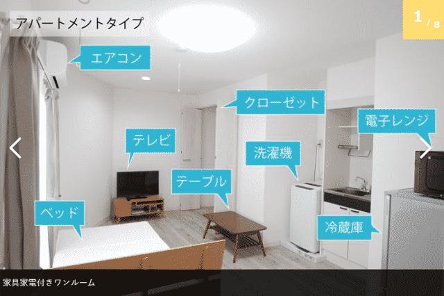 家具付アパートメント