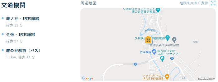 ビレッジハウス新千代田交通機関