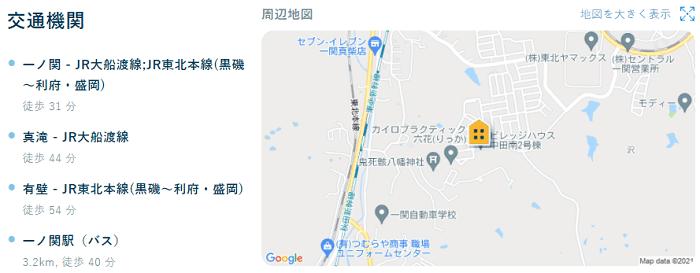 ビレッジハウス中田南交通機関