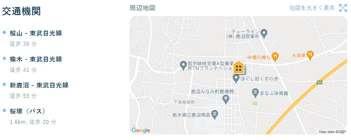 ビレッジハウス奈良部地図写真