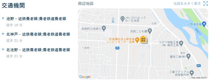 ビレッジハウス池田交通機関