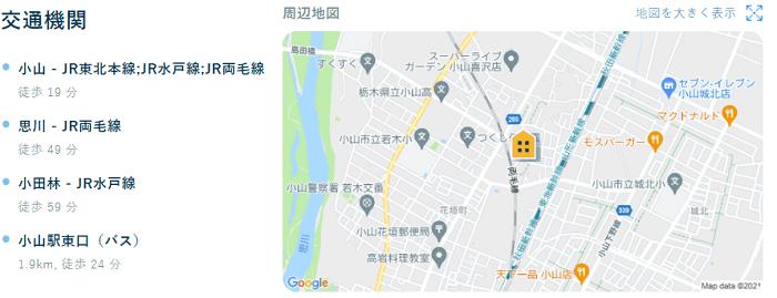 ビレッジハウス稲葉郷地図写真