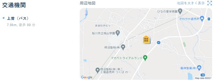 ビレッジハウス金井交通機関